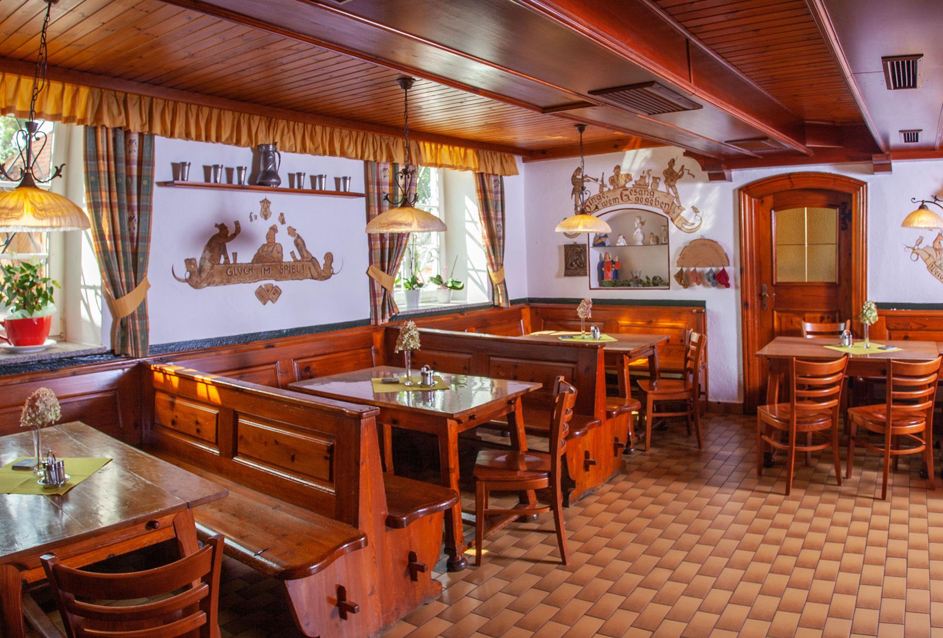 Gaststube im Gasthof Enichlmayr