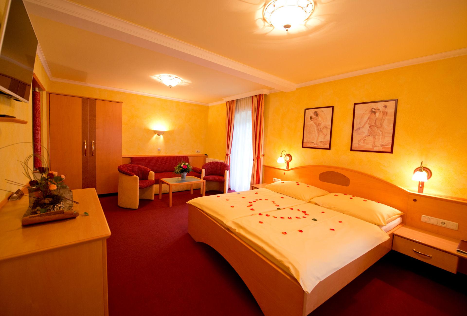 Hochzeitssuite im Wellness-Hotel-Gasthof Enichlmayr