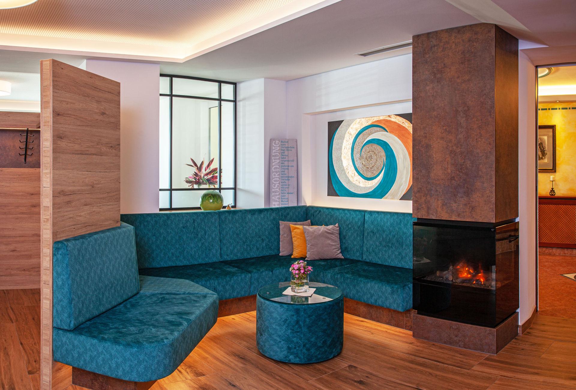 Lounge im Wellness-Hotel-Gasthof Enichlmayr